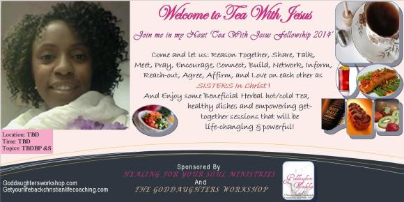 First Tea with Jesus Flyer 2014