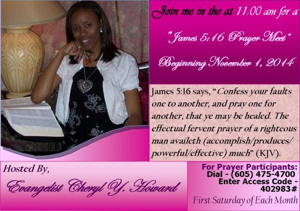 James 5-16 Prayer Meet Photo