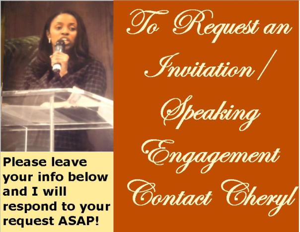 Let Me Out-Invite to speak