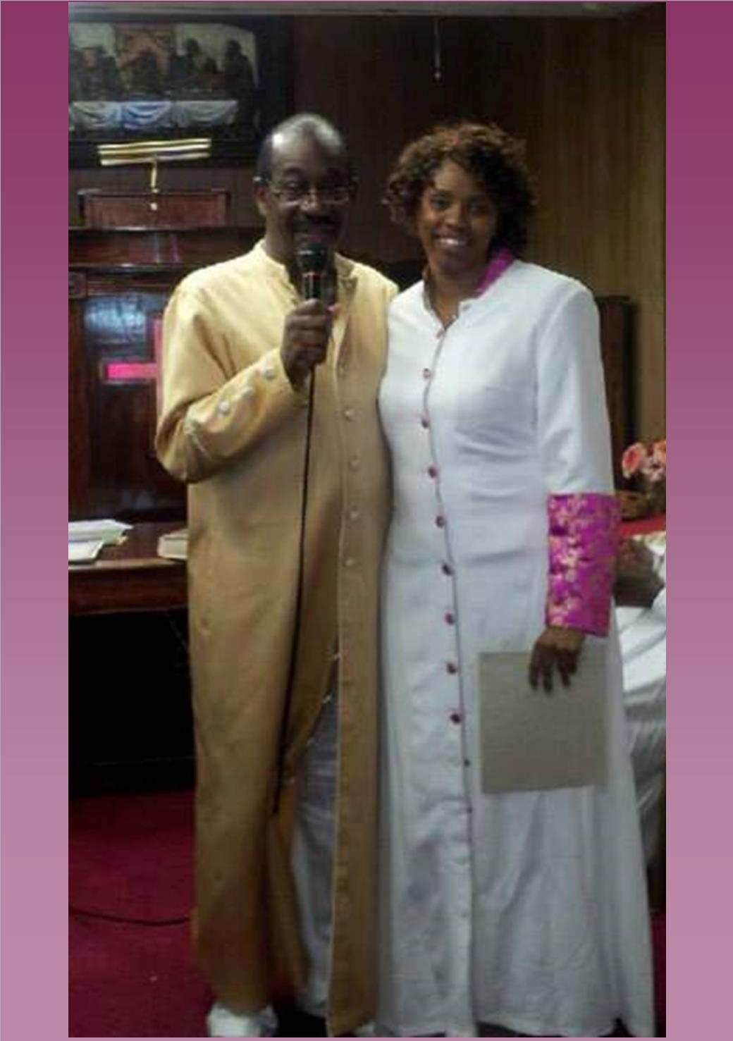 Apostle Stephen Amacker & Evangelist/Elder Cheryl Y. Howard