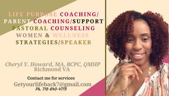 Parent Coach, Life Purpose card