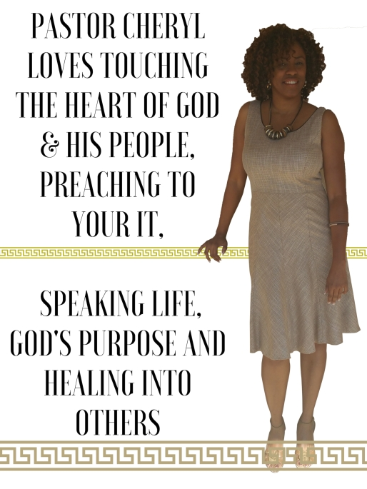 Book Pastor Cheryl