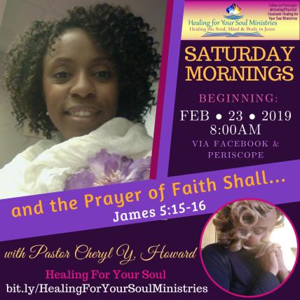 Prayer of Faith Prayer 2019 James