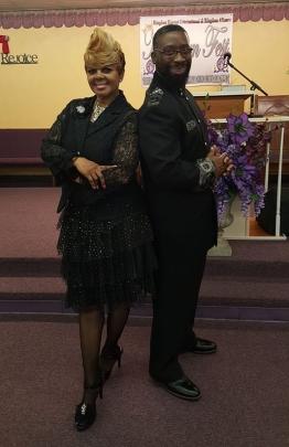 Apostle/Dr. D.L. Wilson & Co-Pastor Cynthia Wilson